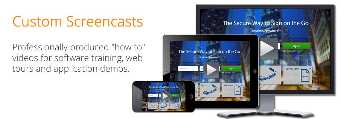 Custom Screencasts